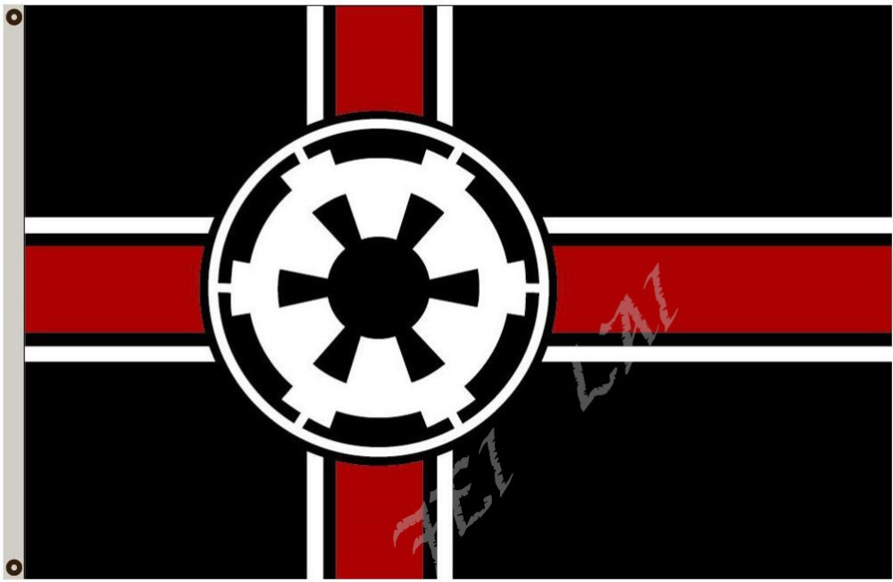 galaktische imperium star wars flagge 3x5ft banne 100d in galaktische imperium star wars flagge. Black Bedroom Furniture Sets. Home Design Ideas