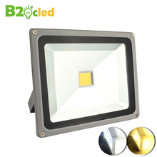 Refletor LED led 110 V 220 V 85-265 V LLEVÓ la luz de inundación de iluminación al aire libre 10 W 20 W 30 W 50 W 100 W LLEVÓ el reflector spotlight COB lámpara de luz