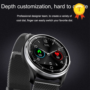 Image 3 - 2019 New hr bp monitoring fitness band PPG ECG smart watch with ecg electrocardiograph display heart rate monitor blood pressure