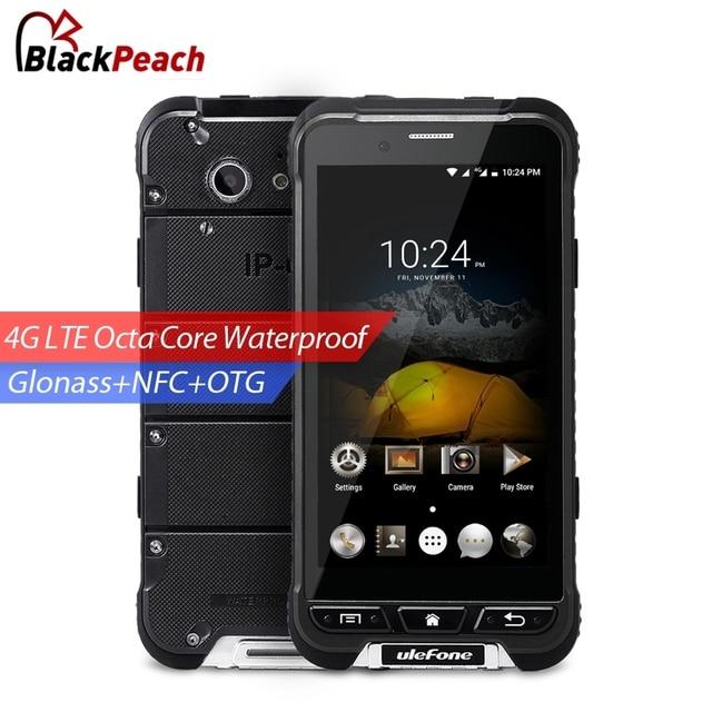 Ulefone ARMOR Waterproof Mobile Phone 4.7 inch HD MTK6753 Octa Core Android 6.0 3GB RAM 32GB ROM 13MP Cam OTA 4G Smartphone