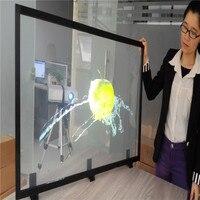 1.52 × 2メートル明確なリアプロジェクションフィルム/ホログラフィック背面投影フィルム用ショッピングモール