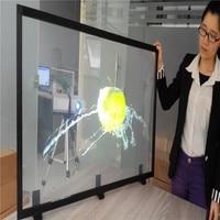 1.52x2 м прозрачная пленка обратной проекции/голографическая обратной проекции пленка для торговый центр