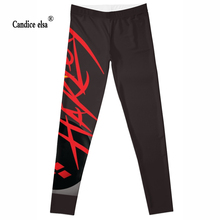 CANDICE ELSA sexy women leggings bomb printed leggins fitness elastic female pants wholesale plus size S-4XL