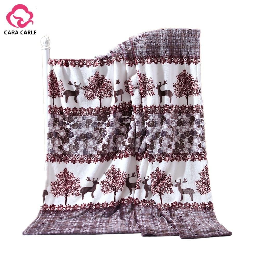 online buy wholesale coral fleece blanket from china coral fleece  - soft warm plaid coral fleece blanket on bedsofaplanetravel winter blanket