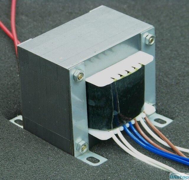 IWISTAO Trasformatore di POTENZA Tensione di Uscita EI Nucleo per Tubo Pre amplificatore 250V 0 250V 0.06A 6.3 v 1A 13 V 2.7A HIFI Audio FAI DA TE