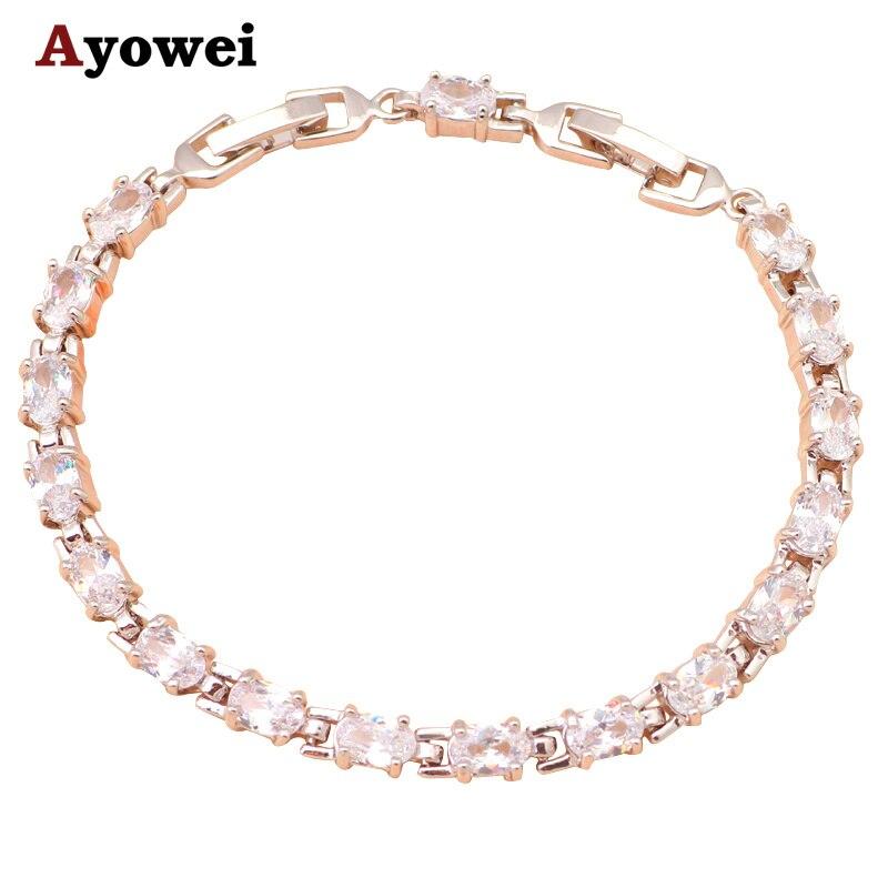 Fantástico estilo Pulseiras   bangles marca AAA Zirconia   white Crystal  Saúde Moda jóias de Prata para as mulheres TBS727A 54f86d3a6b