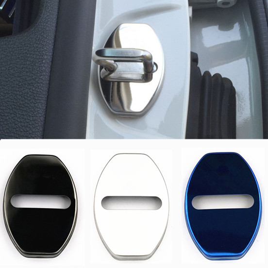 Hot Stainless Steel Car Covers Door Lock Cover Protecting