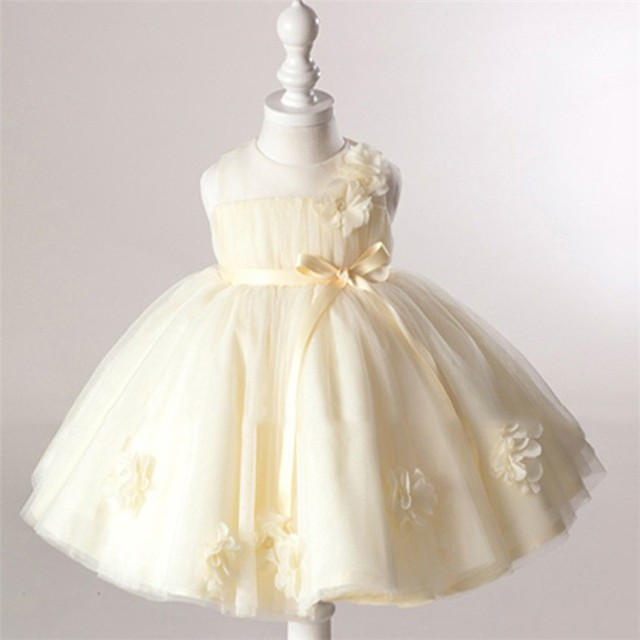 7604a15ee225 Baptism Girls infant princess dress Girl Dresses for Girls 1 2 year  Birthday Party Baby Girl Dress Wedding Newborn Clothes