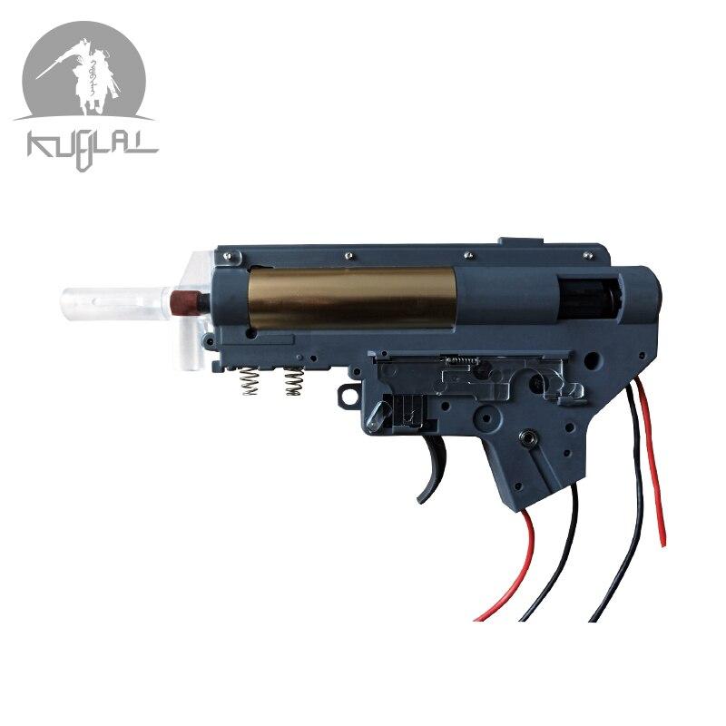 Gel Gearbox V2.Gel Split Gearbox Nylon Receiver For Gel Ball Blaster Paintball