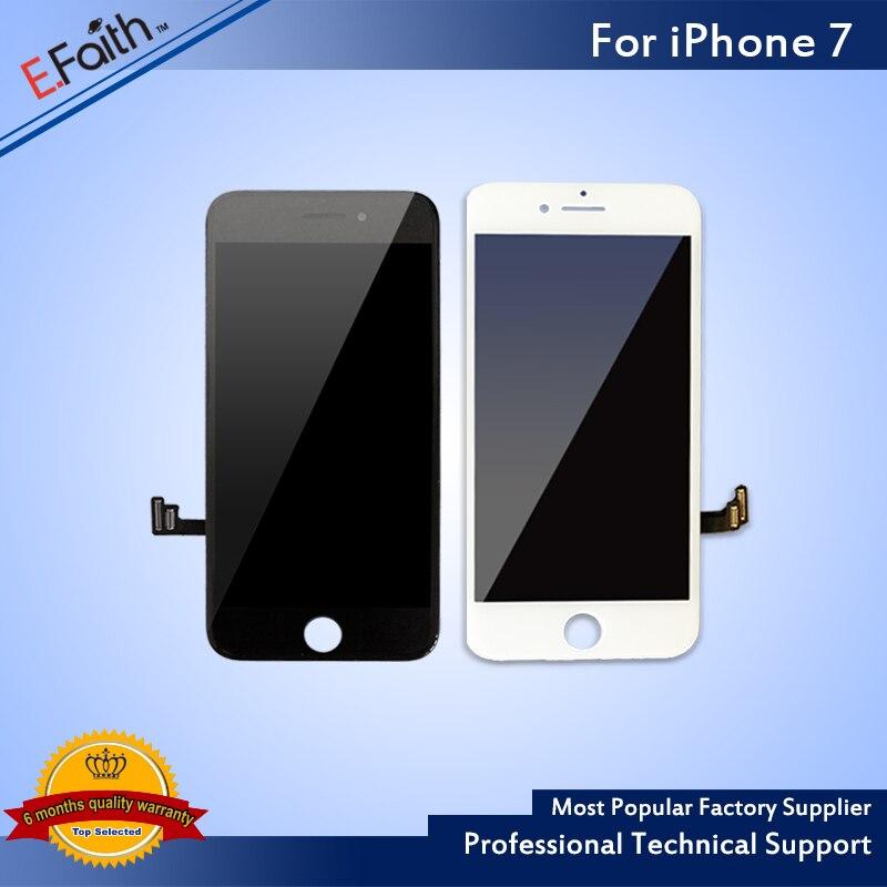 imágenes para 10 unids Para el iphone 7 7G Pantalla LCD Digitalizador Asamblea Pantalla Replacment del Enchufe de Fábrica Para Apple 7 7G LCD Envío Libre de DHL