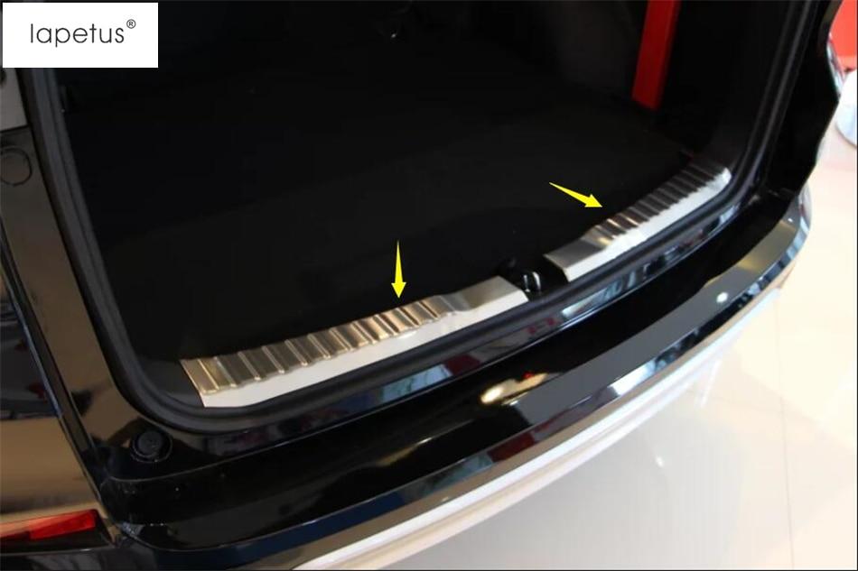accessories  honda crv cr    rear bumper foot plate trunk door  sill guard