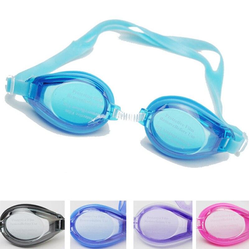 124c3d9068 Nuevos niños natación piscina al aire libre Anti niebla gafas de natación  gafas accesorios para niños niñas con tapones para los oídos bolsa en  Máscaras de ...