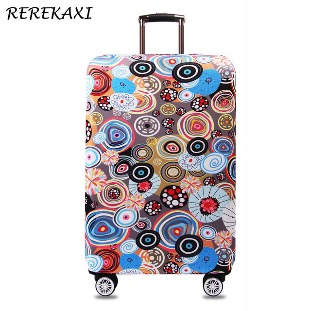 REREKAXI 18-32 Inch Thickened Suitcase Cover,Trolley Luggage Covers, Trunk Case Elastic Protective Cover, Travel Accessories