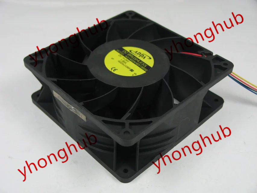 Free shipping For ADDA AS14024HB519B00 DC 24V 1.85A 4-wire 4-pin 140x140x50mm Server Square fan free shipping for adda aa8382hb aw s ac 220 240v 0 07 0 06a 2 pin 80x80x38mm server square fan free shipping