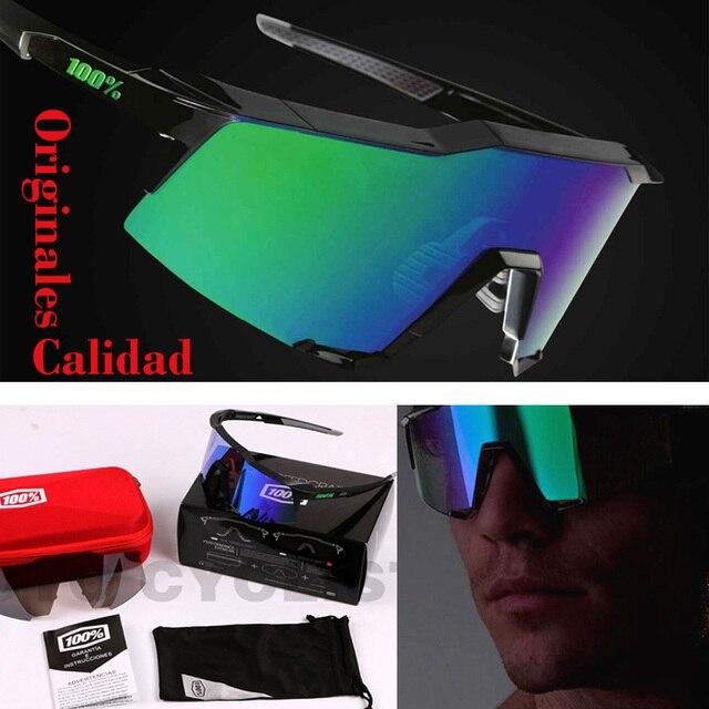 Calidad Original 100 SpeedCraft gafas de Sol Hombres Deportes Al Aire Libre gafas de Sol Gafas Gafas Gafas Gafas Gafas De Sol De Marca 2017