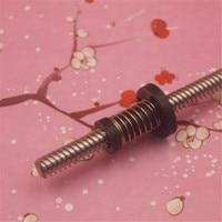 A Funssor 2pcs TR8x8 TR8x2 T Type Lead Screw 300mm 345mm Anti Backlash POM Nut For
