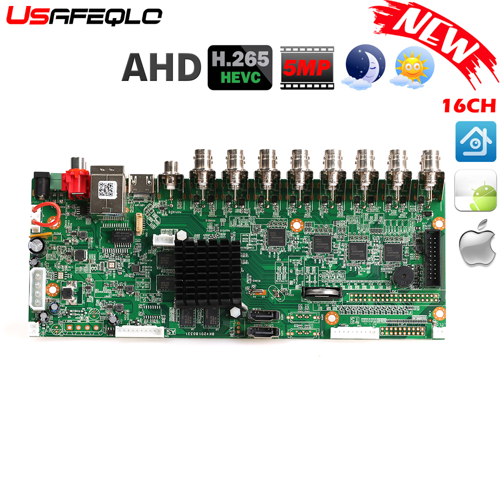 Ahd-Dvr-Board 16-Channel H.265 Ahd 5mp CCTV 720p-Camera Onvif for 4MP 1080P Save Big-Ram