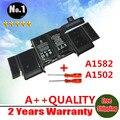 Nueva A1582 batería del ordenador portátil para Macbook Retina A1502 13 pulgadas 11.42 V / 74.9WH recargable ventas al por mayor