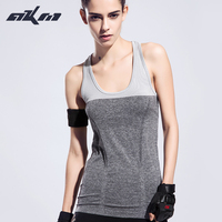 7 Colors Summer Women Sports Vest Dry Quick Loose Gym Tank Tops Fitness Sport Sleeveless Vest