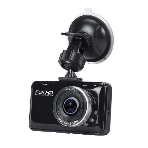 New Hot Car Video Camcorder HD 1080P Car DVR Vehicle Camera Video Recorder Dash Cam G-sensor Night Vision Free Shipping