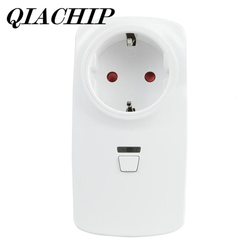 QIACHIP WiFi Smart Plug Smart Home Socket Work with Amazon Alexa Google Home Schedule Function App Remote Control EU Plug DS35 eu power plug mini wifi smart socket mobile app remote control usb output works with amazon alexa google home