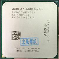 PC AMD A4 Series A6 3650 A6 3650 Quad Core CPU 100% working properly Desktop Processor 100% working properly Desktop Processor