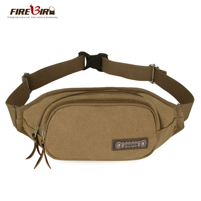 Firebird!2016 new Korean men's waist bag leisure Messenger Bag Canvas waist bag for men H103