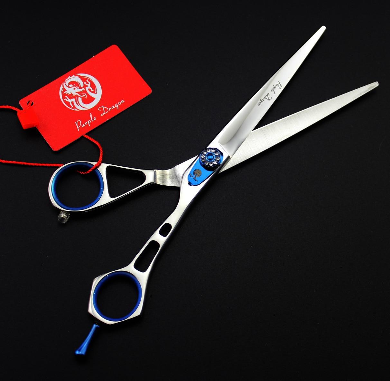 Ciseaux de coiffure 7.0 Dragon violet TOP GRADE 440C chiensCiseaux de coiffure 7.0 Dragon violet TOP GRADE 440C chiens