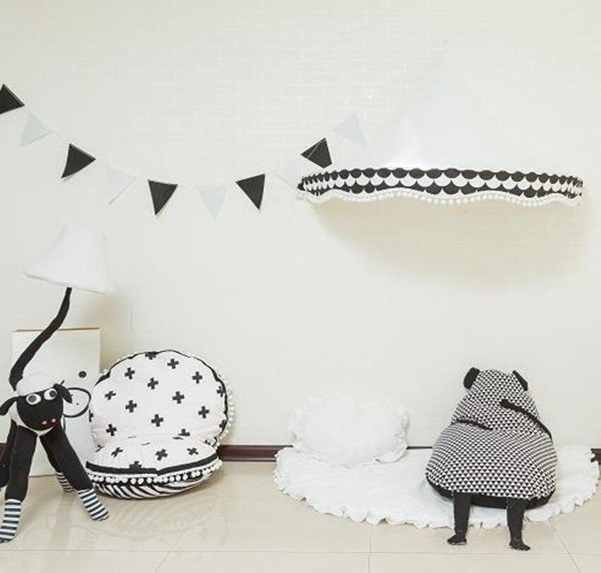 Bébé berceau filet belle indien bébé tente maison coton blanc coin chambre photographie bébé demi-lune bébé tente dans des tentes de jouets