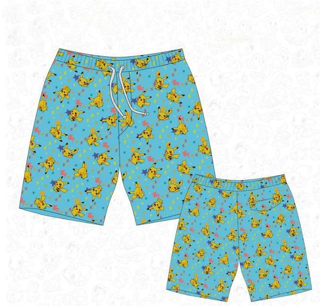 a9aa8308f8 Pokemon Pikachu Men's Swim Trunks-in Board Shorts from Men's ...