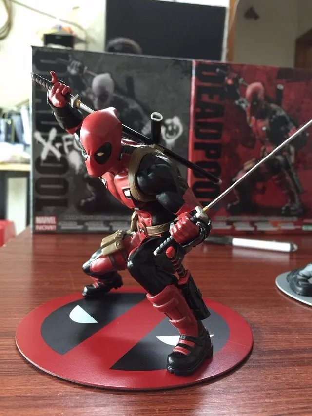 Deadpool Figure Wade Wilson ARTFX+ X MEN X-MEN Weapon X CIVIL WAR Iron Man Wolverine PVC Action Figure Model Collection Toy Gift batman figure justice league artfx statue x men weapon x iron man bruce wayne action figure model collection toy