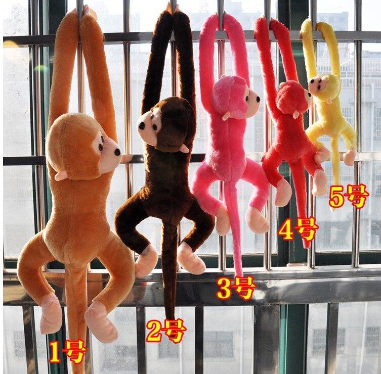 Image 4 - Новая милая плюшевая обезьянка с длинными рукавами-in Мягкие и плюшевые животные from Игрушки и хобби
