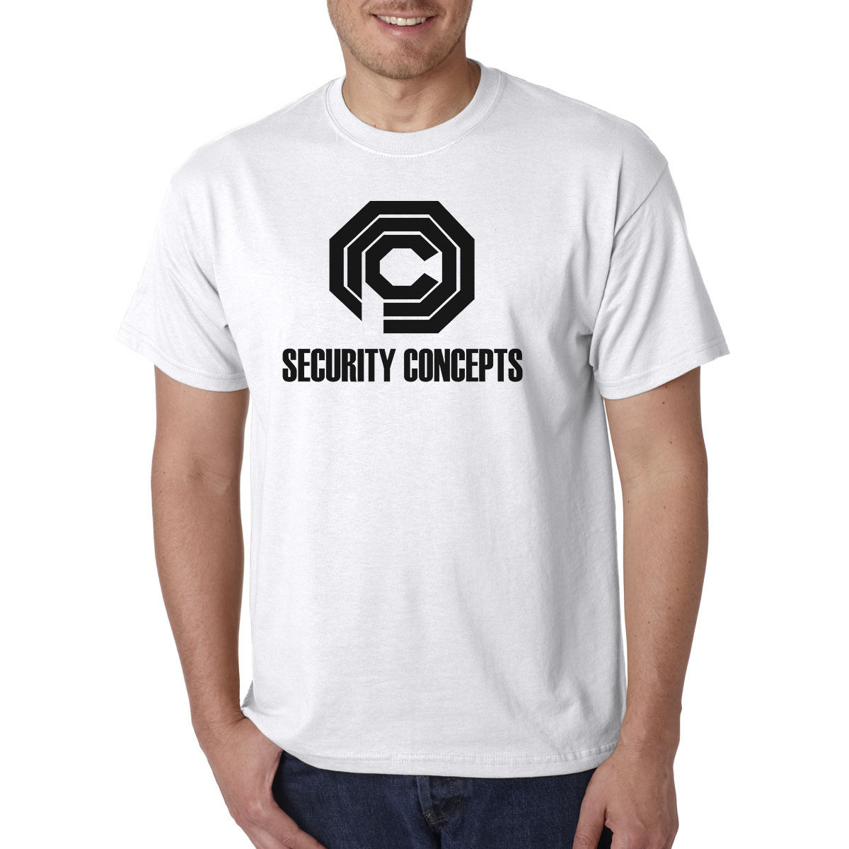 US $13 04 13% OFF|OCP Security Concepts T Shirt Omni Consumer Products  Robocop Sci Fi Tee Retro New 2017 Summer Fashion T Shirt Top-in T-Shirts  from