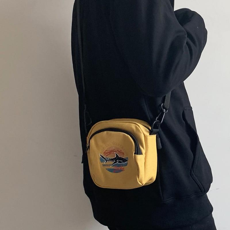 Mini ženske torbice platnene torbice majhne platnene ramenske - Torbice - Fotografija 2