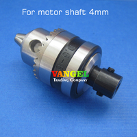 4mm Motor Shaft Diameter Miniature Drill Chuck 0 6 6mm B10 High Precision For Drill Press