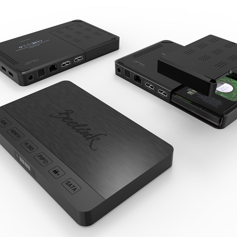 Beelink SEA I TV Set Box 2GB+32GB Storage Realtek 1295DD Quad-Core Android Hard Disk with SATA Port TV Box Bluetooth 4.0