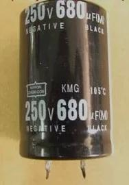 Electrolytic Capacitor 250V 680UF Hard Foot Capacitor Accessories