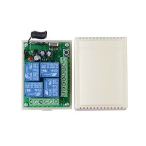 Image 2 - רגישות גבוהה עבור DC 12 V הקטן 4CH ערוץ אלחוטי שלט רחוק מתג רדיו בקר משדר 315 mhz 200 m מקלט
