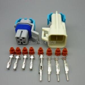 Image 3 - Shhworldsea 5/30/100 sets o2 산소 센서 연장 하네스 ls1 ls2 4 핀 스퀘어 4 핀 ls1 산소 o2 센서 4 방향 커넥터