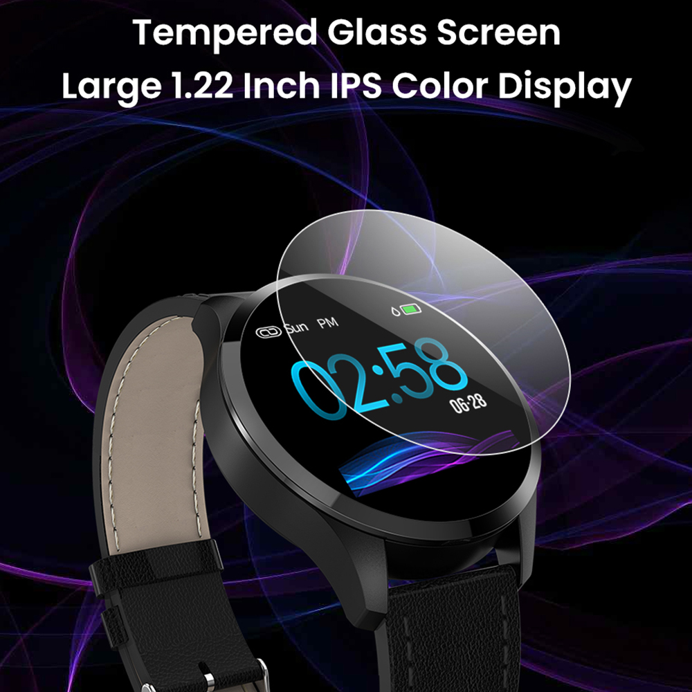 Image 2 - Virtoba C06 Smart Watch OLED Color Blood Oxygen Blood Pressure Watch Men Women Fashion Fitness Tracker Bracelet PK Q8 smartwatch-in Smart Watches from Consumer Electronics