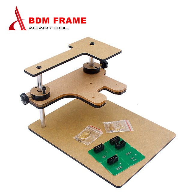 High quality BDM FRAME with Adapters Set fit for BDM100 programmer/ CMD , BDM FRAME with Adapters Set Fit original FGTECH