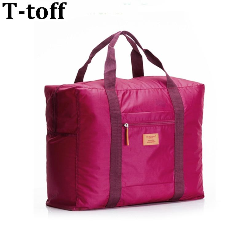 Hot Sale Foldable märkesdesigner bagage reser väskor arrangör vattentäta kvinnor och män duffle bära bagage resväska
