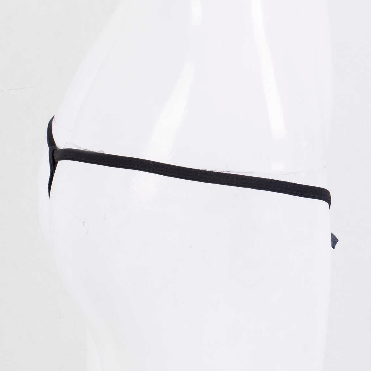 Fashion Wanita Seksi Renda Bunga Celana Pakaian Dalam Seksi Knicker G-string Thong Celana Dalam Pakaian Dalam Wanita Seksi Seksi Erotis Solid Celana Dalam Hitam