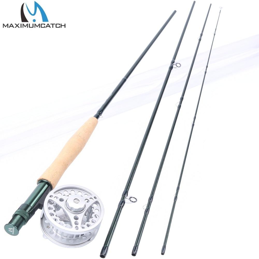 ФОТО Maximumcatch Fly Rod and Reel Combo 8'4
