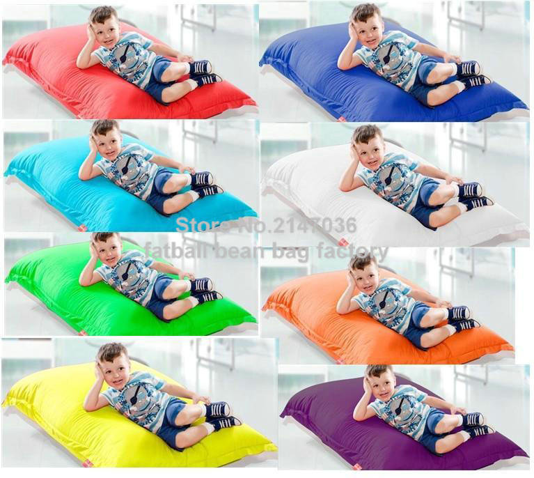 Various colors in stock junior bean bag chair, outdoor beanbag sofa beds, Living room home furniture