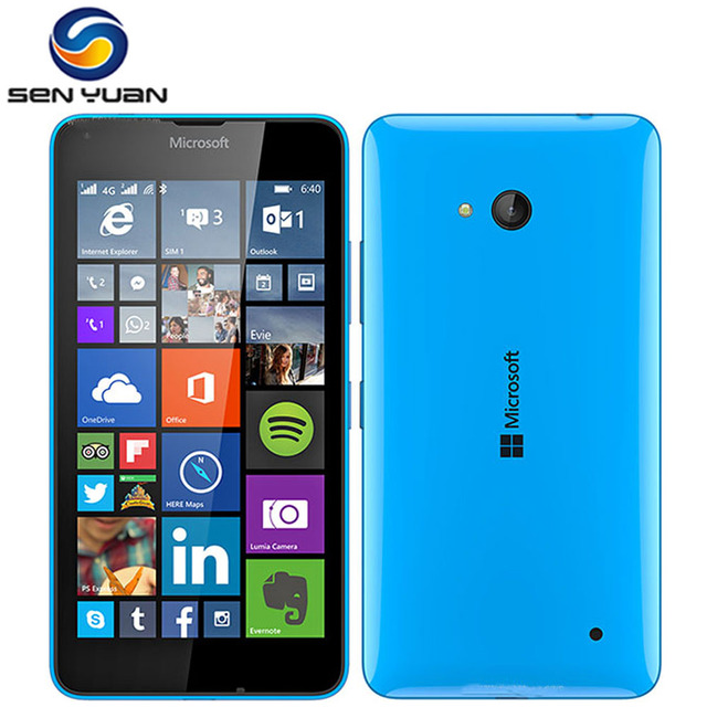 6f925ddb727 Original Nokia Microsoft Lumia 640 unlocked cell phone 8MP Camera Quad-core  8GB ROM 1GB