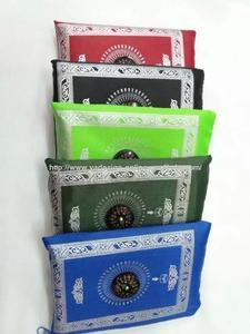 Image 3 - MA003 Travel muslim compass pocket size protable prayer mat 100*60cm