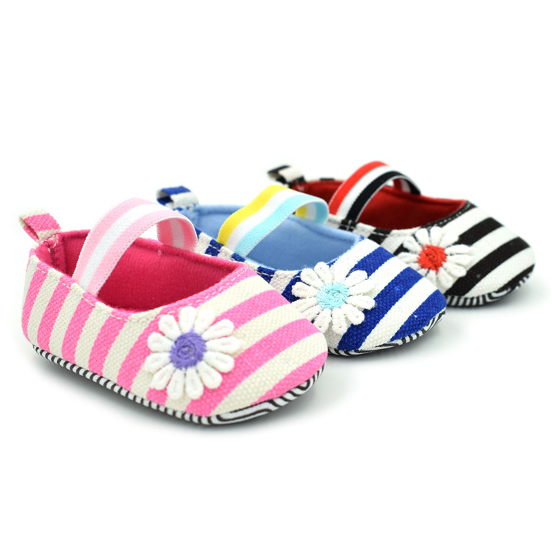 New Fashion Flower Baby Girls Shoes Lovely Infant First Walkers Good Soft Sole Toddler Baby Moccasins Shoes Hot Sale
