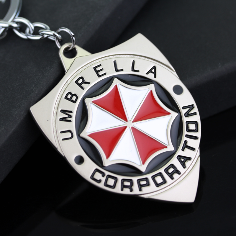 Sci-fi action and thriller movie Umbrella Corporation Keychain image