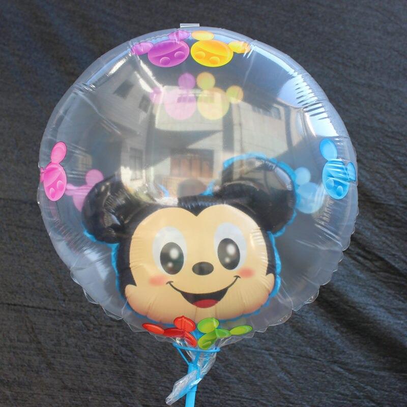 Все манеры Микки Минни воздушные шары на день рождения надувные декорации для вечеринки воздушные шары Детские Классические игрушки мультфильм шляпа - Цвет: 16